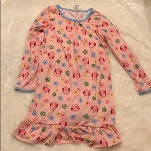 5 for $25! Girls owl nightgown